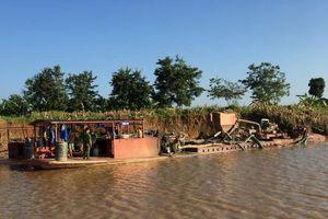Đắk Nông: Tạm dừng khai thác cát đối với công ty liên quan đến vụ 4 tàu hút cát 'lậu' bị bắt giữ