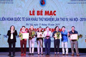 Bốn vở diễn giành Huy chương Vàng tại Liên hoan quốc tế Sân khấu thử nghiệm lần thứ IV