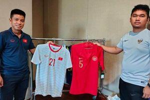 'Áo trắng may mắn' của ĐT Việt Nam trận gặp Indonesia