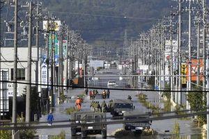 Nhật Bản nỗ lực tìm kiếm người sống sót sau siêu bão Hagibis