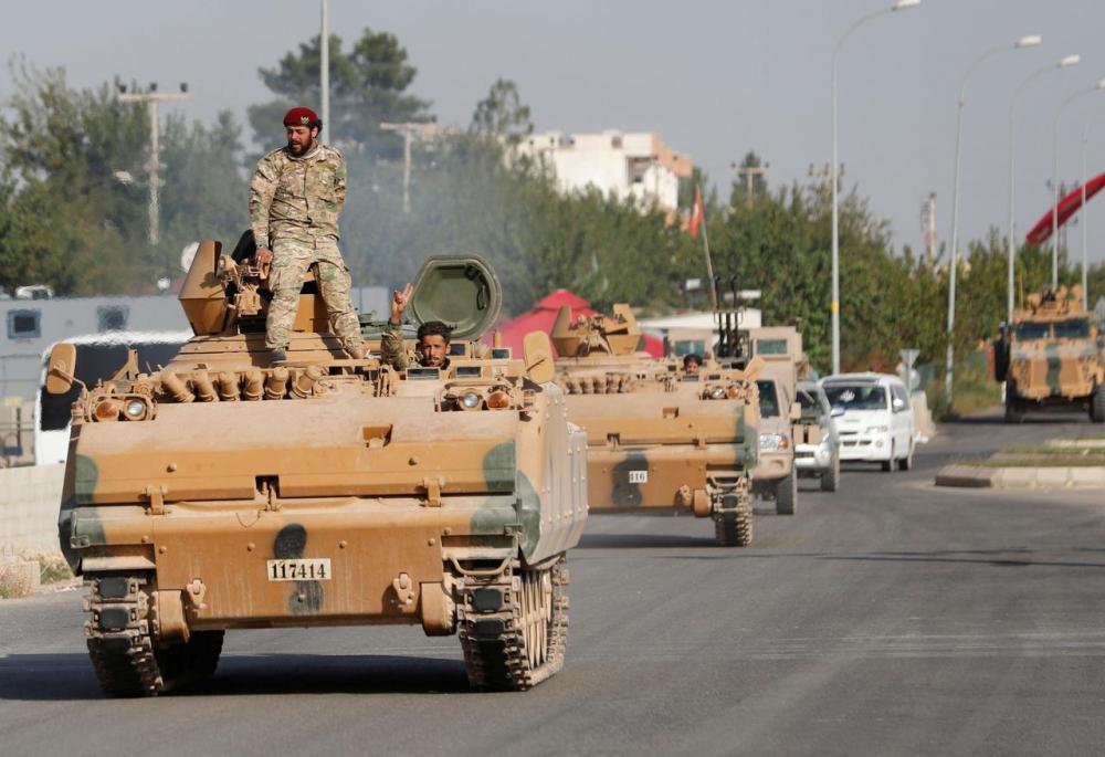Syria điều quân, chuẩn bị 'đối đầu' Thổ Nhĩ Kỳ