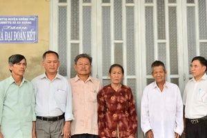 Đắk Lắk: Hỗ trợ xây nhà theo chương trình 167 và nhà Đại đoàn kết cho hộ nghèo huyện Krông Pắc