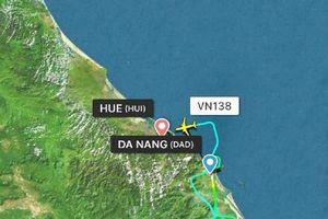 Vietnam Airlines lên tiếng máy bay hạ cánh hai lần ở Đà Nẵng