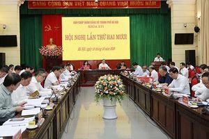 Hội nghị lần thứ 20 Ban Chấp hành Đảng bộ TP Hà Nội: Đánh giá việc thực hiện nhiệm vụ chính trị 9 tháng đầu năm 2019