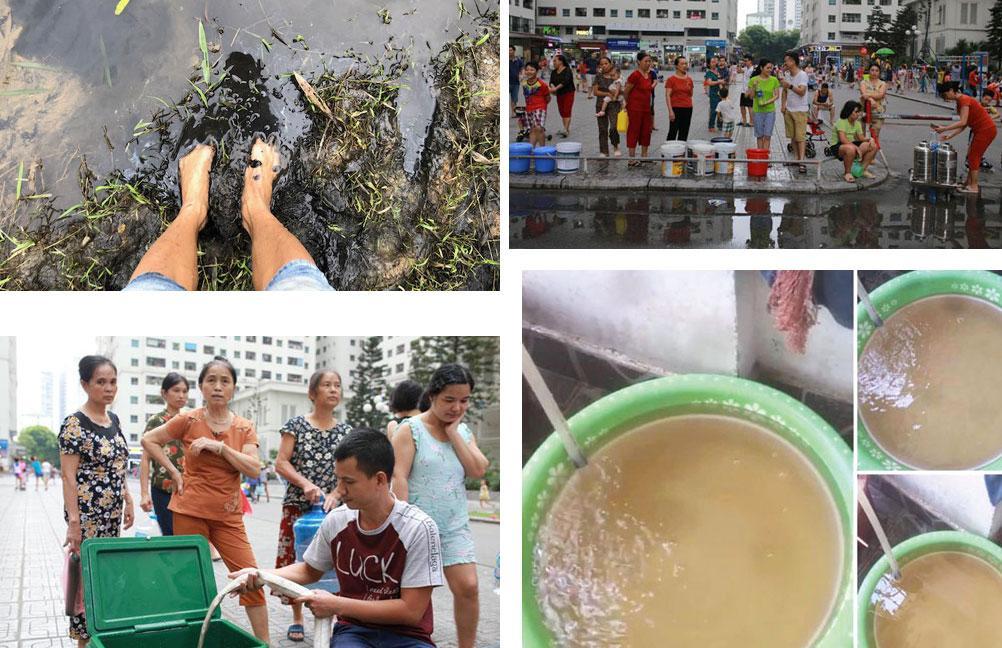 Toàn cảnh vụ nước sạch ở Hà Nội có mùi lạ