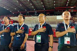 Thầy Park phấn khởi với nỗ lực của các học trò