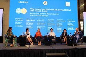 Nâng cao quyền năng của phụ nữ tại nơi làm việc trong bối cảnh cách mạng công nghiệp 4.0