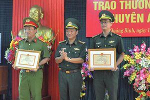 Khen thưởng lực lượng tham gia Ban chuyên án 548LV
