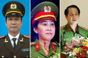 Bộ Công an thi hành kỷ luật 3 phó giám đốc Công an Đồng Nai