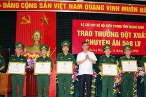 Quảng Bình: Thưởng nóng Ban chuyên án phá đường dây vận chuyển 100.000 viên ma túy xuyên quốc gia