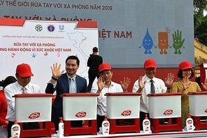 'Rửa tay với xà phòng-Cùng hành động vì sức khỏe Việt Nam'