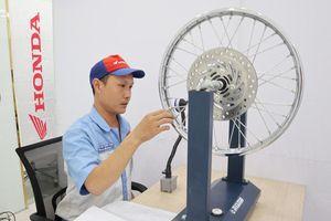 Honda Việt Nam thi Kỹ thuật viên DV và Nhân viên QHKH xuất sắc 2019
