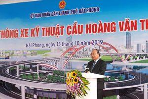 Thủ tướng Nguyễn Xuân Phúc dự Lễ thông xe cây cầu 'cánh chim biển'
