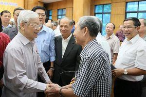 Tổng Bí thư, Chủ tịch nước: Hà Nội cần quan tâm đến vấn đề chiến lược