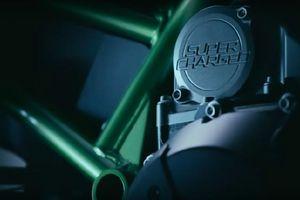 Kawasaki sắp trình làng 'siêu môtô' trang bị động cơ siêu nạp