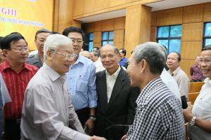Cử tri Hà Nội mừng khi thấy Tổng Bí thư, Chủ tịch nước khỏe mạnh