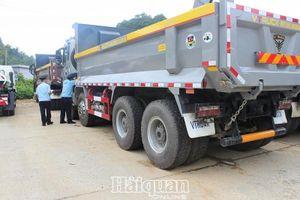 Hải quan Lạng Sơn: Vướng xử lý kết quả kiểm tra chuyên ngành ô tô tải tự đổ