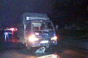 Xe máy đối đầu ô tô tải trong đêm, nam thanh niên tử vong tại chỗ
