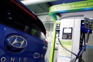 Hàn Quốc nỗ lực tăng cường sử dụng xe chạy điện và nhiên liệu hydro