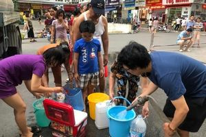Thông báo chính thức về tình trạng nước sạch có mùi lạ