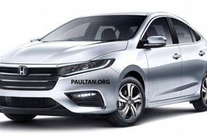 Lộ diện thiết kế Honda City hoàn toàn mới, ra mắt tháng 11 tới