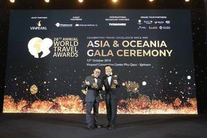 Freser Suites HaNoi của BIM Land đạt giải World Travel Awards 2019