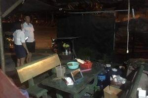 Bình Dương: Từ chối mua nước đá, quán cà phê bị nhóm 'tuổi teen' ném bom xăng