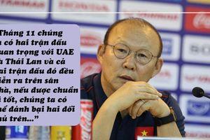 UAE và Thái Lan cỡ nào mà ông Park muốn đánh bại cả hai