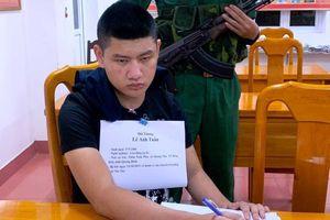 Bắt 3 thanh niên vận chuyển ma túy xuyên quốc gia bằng ô tô