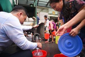 Công ty nước sạch Sông Đà tạm dừng cấp nước vô thời hạn