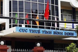 Cục trưởng Cục thuế Bình Định bị giáng chức