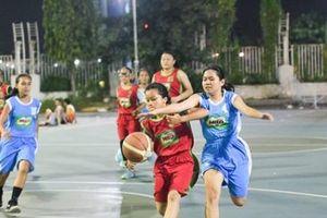 91 đội bóng tranh tài tại Giải bóng rổ Hội khỏe Phù Đổng TP. HCM
