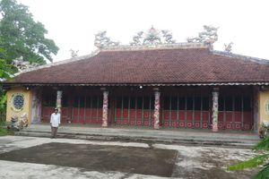 Di tích đình làng Hiền Sỹ (Huyện Phong Điền, TT- Huế): Kẻ gian 'đục tường, phá khóa' lấy cắp cổ vật quý hiếm