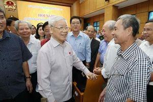 Tiếp tục chống tham nhũng, cương quyết bảo vệ biển Đông