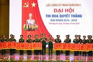 Đại hội Thi đua Quyết thắng Lực lượng vũ trang Quân khu 1 giai đoạn 2014-2019