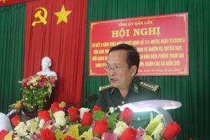 Phát huy vai trò đảng viên Đồn Biên phòng tham gia sinh hoạt tại các chi bộ thôn, buôn xã biên giới