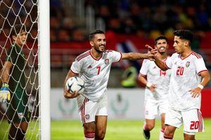 Tiền đạo số một UAE bị treo giò, tuyển Việt Nam hưởng lợi