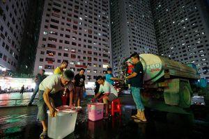 Công ty nước sạch Sông Đà thông báo dừng cấp nước vô thời hạn