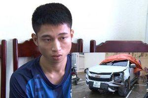 Đối tượng lái xe bán tải tông thương vong 2 người ra đầu thú