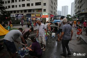 Hơn 2.000 cuộc gọi xin đề nghị hỗ trợ cấp nước đến Công ty Nước sạch Hà Nội