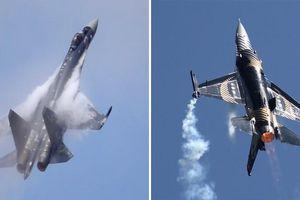 Tin thế giới 16/10: F-16 Thổ Nhĩ Kỳ 'khiếp vía' vì Su-35 Nga, Mỹ tháo chạy khỏi Syria