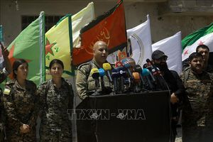 Syria: Các lực lượng Nga băng qua sông Euphrates hướng tới tỉnh Kobani