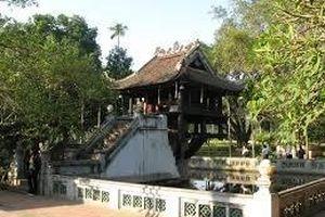 Độc đáo kiến trúc chùa Một Cột