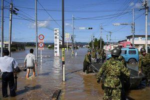 Quân đội Nhật Bản dốc toàn lực khắc phục hậu quả bão Hagibis
