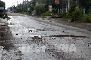 Tổng cục Đường bộ cấp kinh phí 6,5 tỷ đồng khắc phục quốc lộ hư hỏng tại Kiên Giang