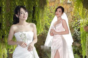 Góc thú vị: Thì ra váy cưới Đông Nhi là phiên bản 'chị em' với đầm cưới Nhã Phương