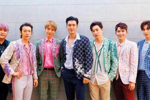 Super Junior quay lại lịch trình ghi hình quảng bá album nhưng không có sự tham dự của fan