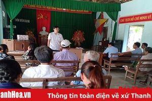 Huyện Bá Thước quan tâm phát triển đảng viên ở vùng đồng bào dân tộc thiểu số