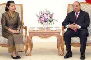 Thủ tướng Nguyễn Xuân Phúc tiếp Phó Thủ tướng Campuchia