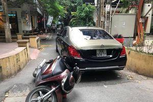 Sự thực kẻ tự xưng là tài xế của Bộ trưởng Công an, đánh người quệt siêu xe Mercedes Maybach S650
